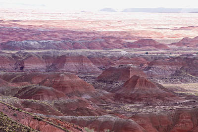 Photograph - Painted Desert 5 by Robert Hebert