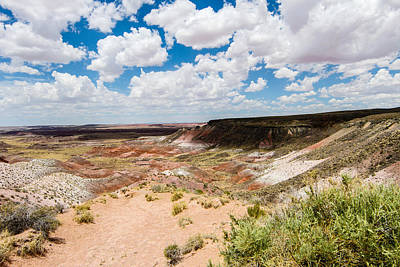 Photograph - Painted Desert 7 by Robert Hebert