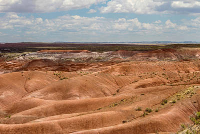 Photograph - Painted Desert 8 by Robert Hebert