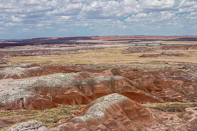 Photograph - Painted Desert 9 by Robert Hebert