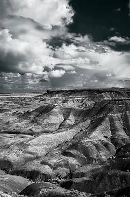 Petrified Forest Arizona Photograph - Painted Desert From Lacey Point by Jerry Ginsberg
