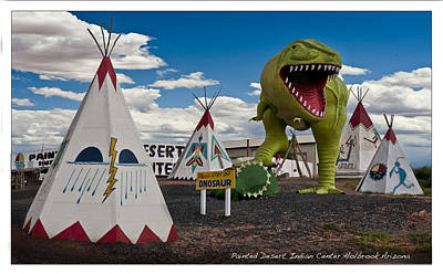 Painted Desert Indian Center  Art Print by Gary Warnimont