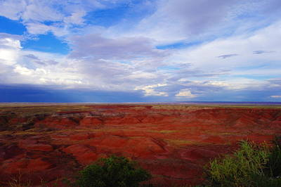 Painted Desert Landscape Art Print