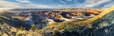 Photograph - Painted Desert  by OLena Art Brand