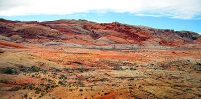 Photograph - Painted Desert Panorama by Frank Wilson