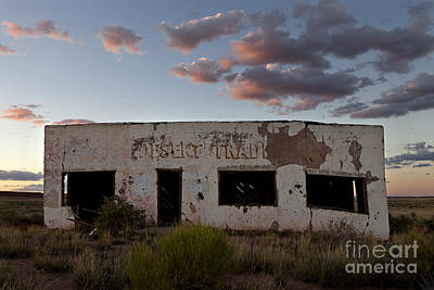 Unicorn Dust - Painted Desert Trading Post at Sunset by Rick Pisio