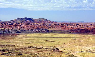 Painted Desert Vista Art Print by Douglas Taylor