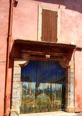 Photograph - Painted Doors by Cristina Stefan
