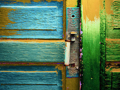 Painted Doors Art Print