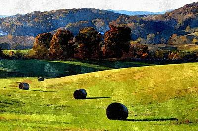 Photograph - Painted Fields by Cathy Shiflett