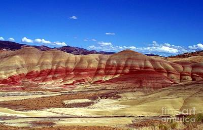 Painted Hills Print by Chalet Roome-Rigdon