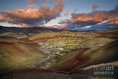 Photograph - Painted Hills by Sean Bagshaw