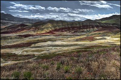 Photograph - Painted Hills Vista by Erika Fawcett