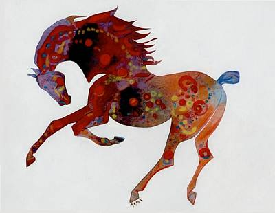 Painted Horse A Art Print