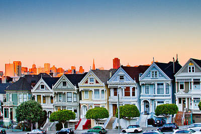 Painted Ladies Art Print by Bill Gallagher