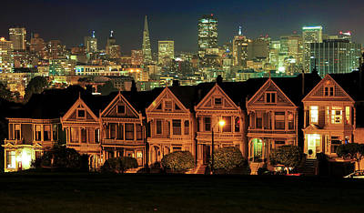 Painted Ladies Art Print