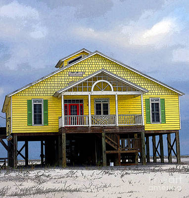 Photograph - Painted Lady Of Dauphin Island by David Bearden
