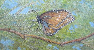 Painting - Painted Lady by Sandra Lytch