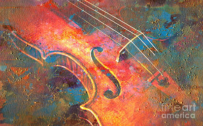 Digital Art - Painted Melody by Greg Sharpe
