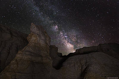 Photograph - Painted Night by Jeff Niederstadt