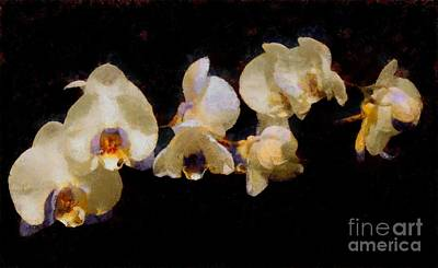Painting - Painted Orchids by Scott B Bennett