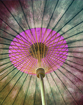 Photograph - Painted Parasol  by Stephen Norris