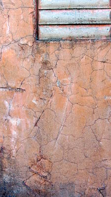 Photograph - Painted Pink Concrete by Anita Burgermeister