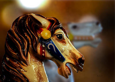 Carousel Photograph - Painted Pony  by Bob Orsillo