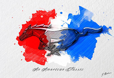 Painted Pony Art Print
