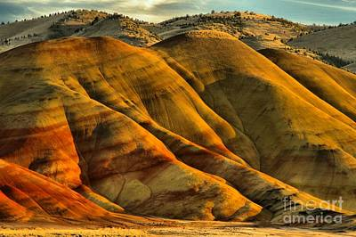 Photograph - Painted Red And Gold by Adam Jewell