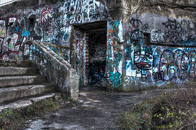 Photograph - Painted Ruins by Andrew Pacheco