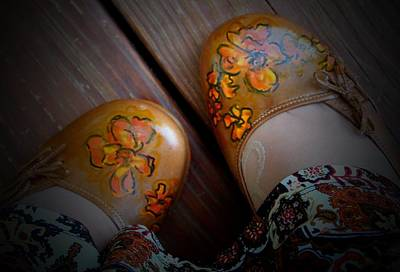 Painted Shoes Art Print by Laura  Grisham