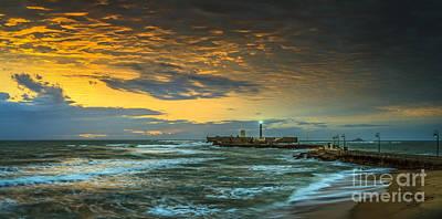 Photograph - Painted Sky Cadiz Spain by Pablo Avanzini