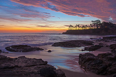 Painted Sky Laguna Beach Art Print