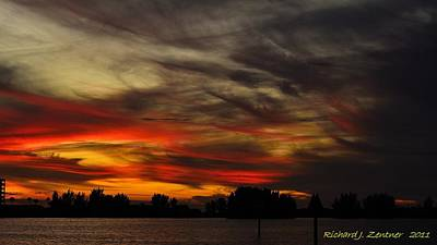 Photograph - Painted Sky by Richard Zentner