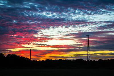Photograph - Painted Sky by Shannon Harrington