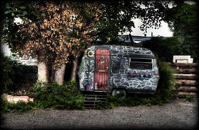 Photograph - Painted Travel Trailer by Beverly Cash