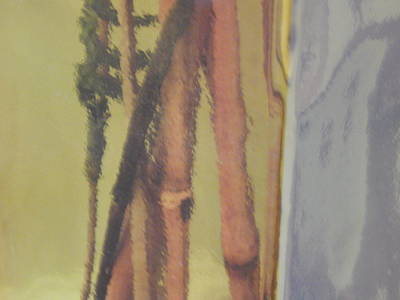Painted Vase Original