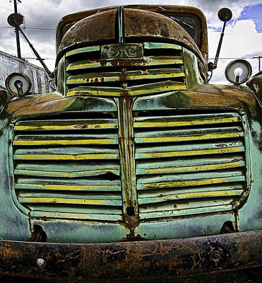 Photograph - Painted With Rust by Gary Neiss
