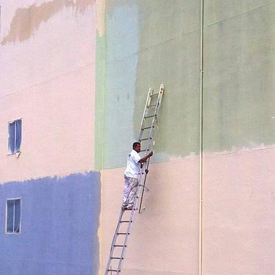 Pastels Photograph - Painter by Julie Gebhardt