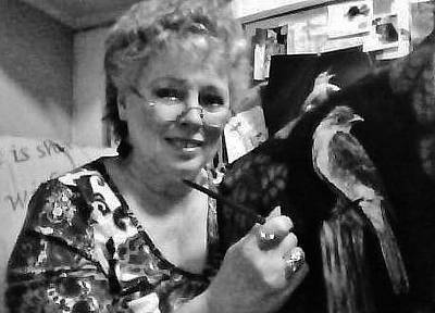 Photograph - Painter Of Birds by VLee Watson