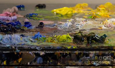 Photograph - Painter Splash by Dale Powell