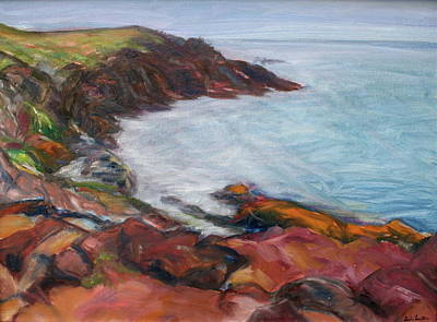 Painting - Painterly - Bold Seascape by Quin Sweetman
