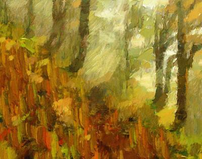 Painting - Painting Autumn by Georgiana Romanovna