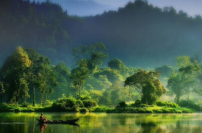 Silence Photograph - Painting Of  Nature by Hardibudi