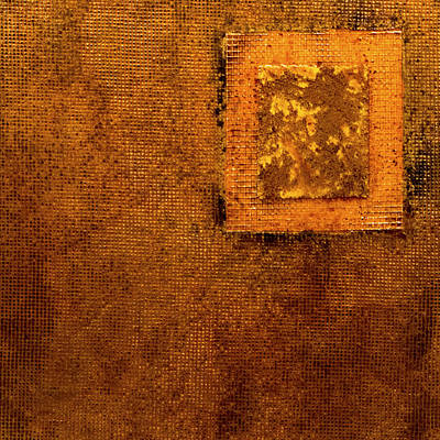 Mixed Media Royalty Free Images - Painting On Wall Royalty-Free Image by Roger Merrill