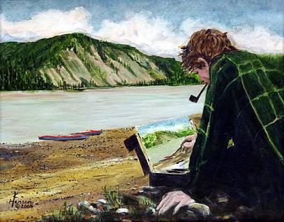 Painting The Yukon Art Print