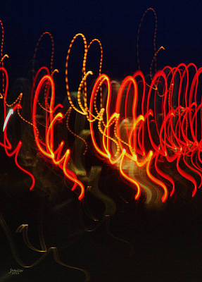 Painting - Painting With Light 3 by Jennifer Muller