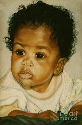 Painting - Paintings By Monica C. Stovall - Pastel Portrait Collectiioon No. Pp27 by Monica C Stovall