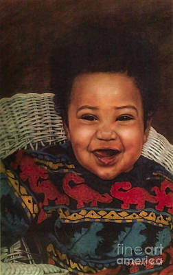 Painting - Paintings By Monica C. Stovall - Pastel Portrait Collection No. Pp11 by Monica C Stovall